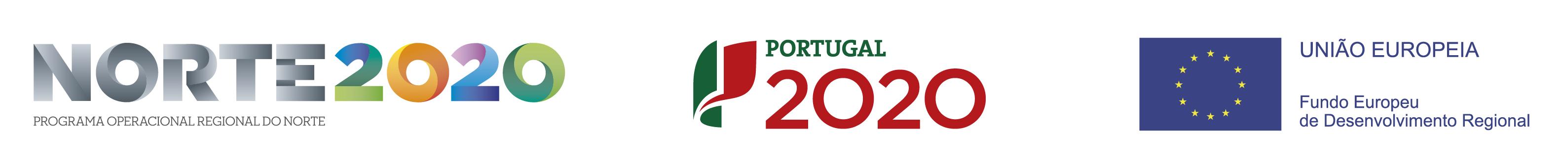 logos financiamento europeu FEDER NORTE 2020